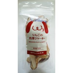 信州産 ペットのリンゴ肉厚ジャーキー(30g) sinshu-wannyan-shoku