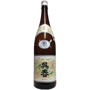 [お酒][日本酒 清酒]呉春 本丸 (本醸造) 1800ml|sintounakano