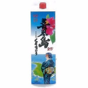 [お酒][黒糖焼酎]喜界島パック 黒糖 25度 1800ml(喜界島)(鹿児島)|sintounakano