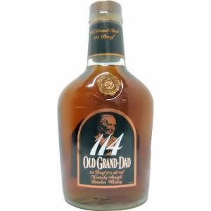 [お酒][ウイスキー]オールドグランダッド 114 57度 750ml 並行 [バーボン]|sintounakano