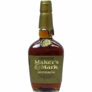 [お酒][ウイスキー][バーボン][バーボン][全国送料無料]メーカーズマーク ゴールドトップ 50.5度 750ml 並行(オールドボトル)|sintounakano