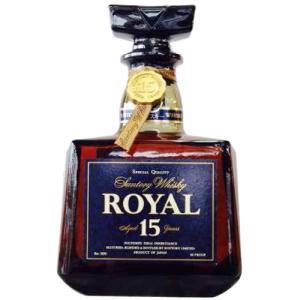 [お酒][ウイスキー][全国送料無料]サントリー ローヤル 角 15年 ブルーラベル 700ml(オールドボトル)|sintounakano