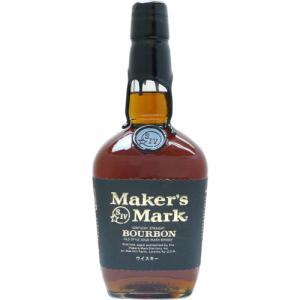 [お酒][ウイスキー][バーボン][バーボン][全国送料無料]メーカーズマーク ブラックトップ 750ml 正規(オールド)|sintounakano