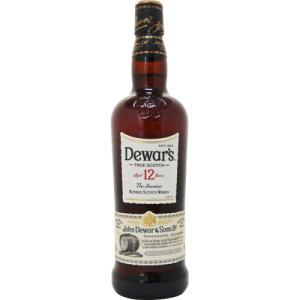 [お酒][ウイスキー][スコッチ][ブレンデッド]デュワーズ 12年 40度 700ml 正規|sintounakano
