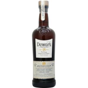 [お酒][ウイスキー][スコッチ][ブレンデッド][送料無料]デュワーズ 18年 40度 700ml 正規|sintounakano
