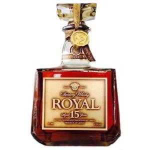 [お酒][ウイスキー][全国送料無料]サントリー ローヤル 角 15年 ゴールドラベル 700ml(オールドボトル)|sintounakano
