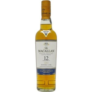 [お酒][ウイスキー][スコッチ][シングルモルト][スペイサイド]マッカラン ダブルカスク 12年 350ml ハーフボトル 正規|sintounakano