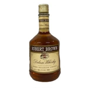 [お酒][ウイスキー][全国送料無料]キリンシーグラム ロバートブラウン 43度 760ml (オールドボトル)|sintounakano