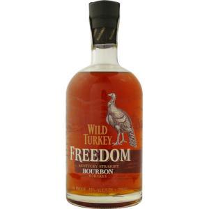 [お酒][ウイスキー][バーボン][バーボン][全国送料無料]ワイルドターキー フリーダム 750ml (オールドボトル)|sintounakano