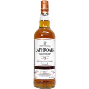 [お酒][ウイスキー][スコッチ][シングルモルト][アイラ]ラフロイグ 32年 46.7度 750ml|sintounakano