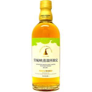 [お酒][ウイスキー]ニッカ 宮城峡蒸溜所限定 ブレンデッドウイスキー 500ml|sintounakano
