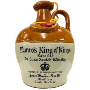 [お酒][ウイスキー][スコッチ][ブレンデッド]マンロー キング・オブ・キング デラックス 43度 750ml (オールドボトル)|sintounakano