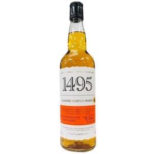 [お酒][ウイスキー][スコッチ][ブレンデッド]1495 ブレンデッド スコッチウィスキー 700ml 正規|sintounakano