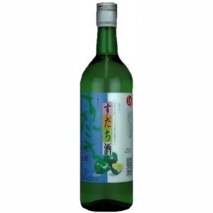 [お酒 リキュール 国産リキュール]鳴門鯛 すだち酒 8度 720ml