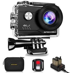 【進化版】Apexcam アクションカメラ 4K高画質 2000万画素 SONYセンサー WiFi搭...