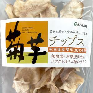 菊芋チップス 4袋(80g×4袋) 送料込|sirakabanouen