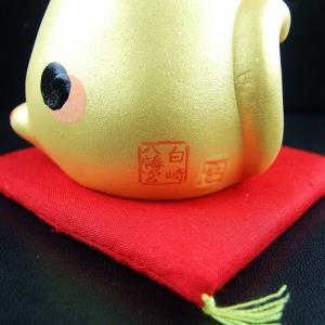 金運財運UP 風水金運招き猫 福槌白崎八幡宮で祈願済み|sirasaki-shrine|03