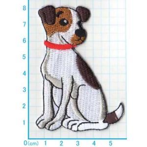 【送料62円】ビーグル犬/アイロンアップリケワッペン/刺繍/動物/イヌ/いぬ|siripohn