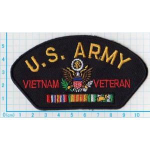 【送料62円】U.S.ARMY VITNAM VETERAN エンブレム/アイロンアップリケワッペン/刺繍/ミリタリー/陸軍|siripohn