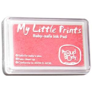 Proud Body ベビー用インクパッド 赤ちゃんの手形や足形をカラフルに取れる専用インクキット 赤ちゃんのデリケートな皮膚にも安心して使える (ピンク)|siromaryouhinn