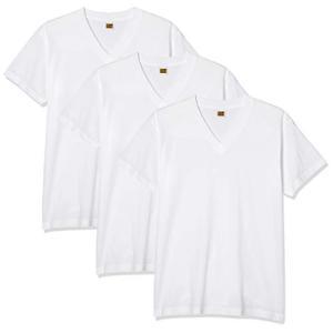 [グンゼ] インナーシャツ G.T.HAWKIN VネックTシャツ 3枚組 HK15153 メンズ ホワイト 日本M (日本サイズM相当) siromaryouhinn