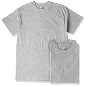 [グンゼ] インナーシャツ G.T. HAWKINS T-SHIRT 3枚組 天竺 HK15133 メンズ グレー杢 日本L (日本サイズL相当) siromaryouhinn