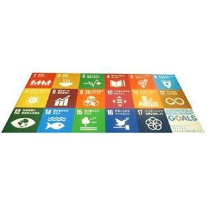 SDGsアイコン タイルカーペット コンプリートセット 18枚 (日本語版) siromaryouhinn