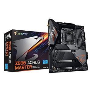 GIGABYTE Z590 AORUS MASTER Rev.1.0 マザーボード ATX [Intel Z590チップセット搭載] MB5265 siromaryouhinn