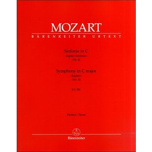 GYA00000460 モーツァルト 交響曲 第41番 ハ長調 KV551 「ジュピター」/原典版/ランドン編: 指揮者用大型スコア(指揮者用スコア(|sitemusicjapan