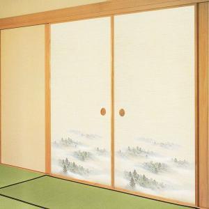 一般織物ふすま紙 No.804 1枚物 (襖紙/襖/ふすま/張替) siturai