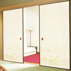 一般織物ふすま紙 No.810 1枚物 (襖紙/襖/ふすま/張替) siturai
