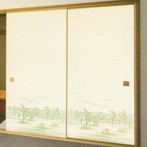 一般織物ふすま紙 No.811 1枚物 (襖紙/襖/ふすま/おしゃれ/モダン/張替) siturai