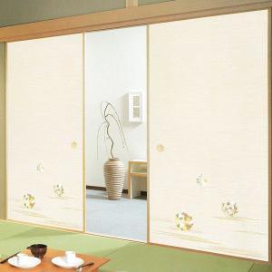 一般織物ふすま紙 No.819 1枚物 (襖紙/襖/ふすま/張替) siturai