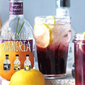 ホームメイドサングリア 300ml(ジンジャー&クランベリー アップル&マンゴー 柑橘&パイン)|sixem-shop
