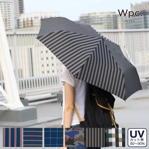 wpc(ワールドパーティー)UNISEX アンブレラ ミニ(折りたたみ傘 /UV加工/メンズ/レディース)|sixem-shop