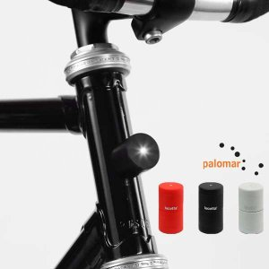 PALOMAR(パロマー)LUCETTA magnetic bike light(マグネット式フロント・リア用 自転車 ライト/LED/生活防水/自転車/バイク/ライト/)|sixem-shop