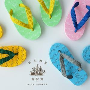 EAST END HIGHLANDERS(イーストエンドハイランダーズ)日本製キッズビーチサンダル|sixem-shop