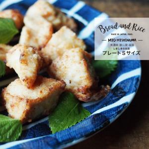 Bread and Rice (パンとごはんと...) 美濃焼 敏山窯 しましまのお皿 プレートS 直径17.5cm|sixem-shop