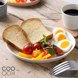 COOKOO Calm Oval Plate S クークー カーム オーバルプレートS 20.5cm