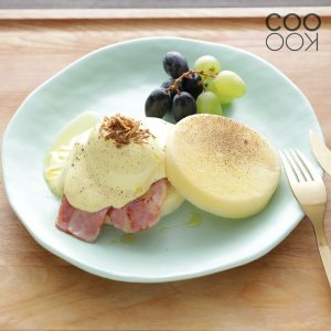 【販売終了】アウトレット/COOKOO Reminiscent Plate L Mint クークー レミニセント プレートL ミント 23.8cm パーティ|sixem-shop