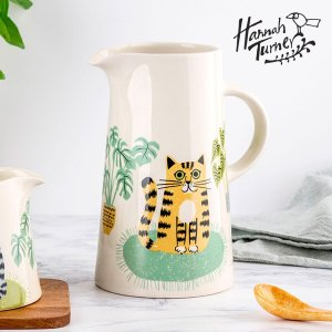 Hannah Turner(ハンナターナー) Cat Tall Jug トールジャグ 950ml|sixem-shop