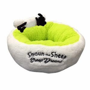 Sheep Dreams ショーン ラウンドベッド グリーン M|sixpetdogs