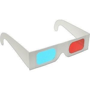 3Dメガネ シンプル 3D メガネ 100個セット