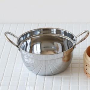 ステンレス鍋(IH対応)19cm sizen