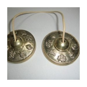 ティンシャ(チベタンベル) 八吉祥印 70mm|sizen