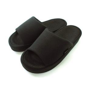 オクムラ スリッパ ブラック Lサイズ with 指枕コンフォート|sizen
