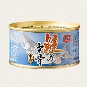 木の屋石巻水産 鮭の中骨水煮 (180g) 3缶|sizen