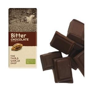 地球食ビターチョコレート【板チョコ】100g sizen