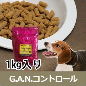 G.A.N.コントロール ドッグフード 犬用療法食 1kg 獣医師開発 鹿肉ドッグフード ベニソン 犬|sizenryouhou