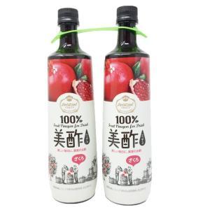 美酢 ミチョ ザクロ酢 900ml×2本セット コストコ 飲むお酢 果実酢 くだもの酢 フルーツ酢